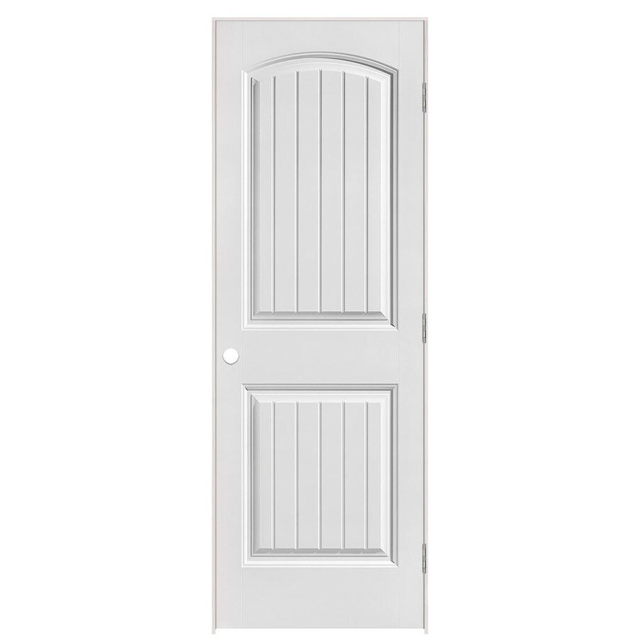 Masonite Primed Molded Composite Interior Door (Common: 28-in x 80-in; Actual: 29.5-in x 81.5-in)