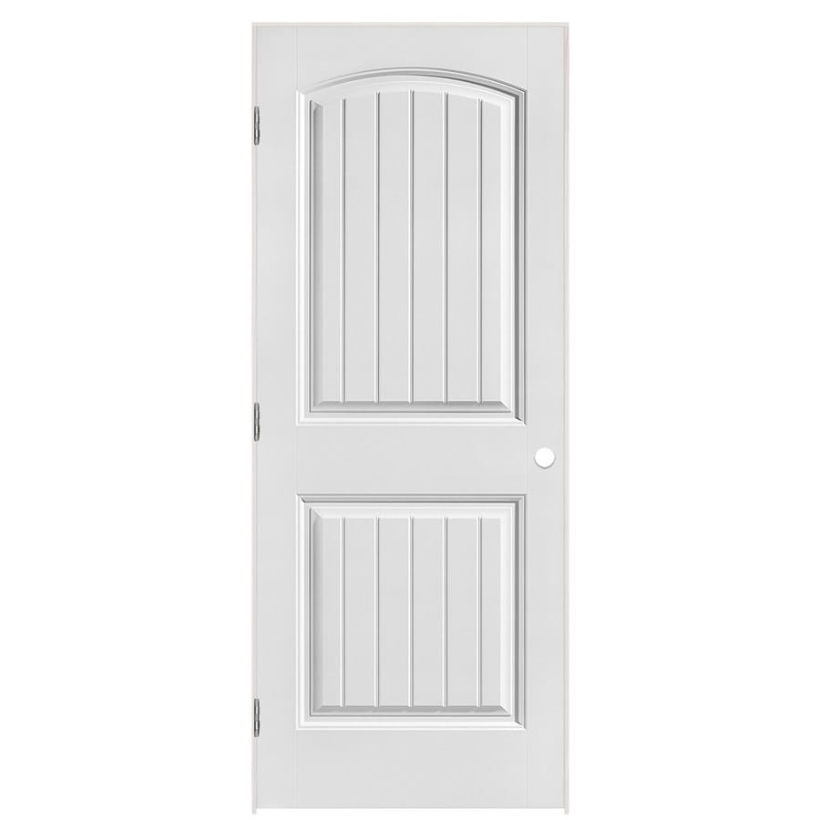 Shop Masonite Classics Primed Hollow Core Molded Composite Single Prehung Interior Door