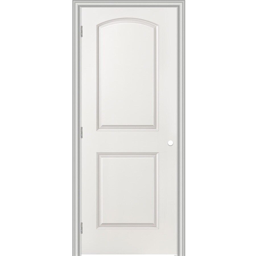 Masonite Classics Primed Hollow Core Molded Composite Single Prehung Interior Door (Common: 36-in x 80-in; Actual: 37.5-in x 81.5-in)