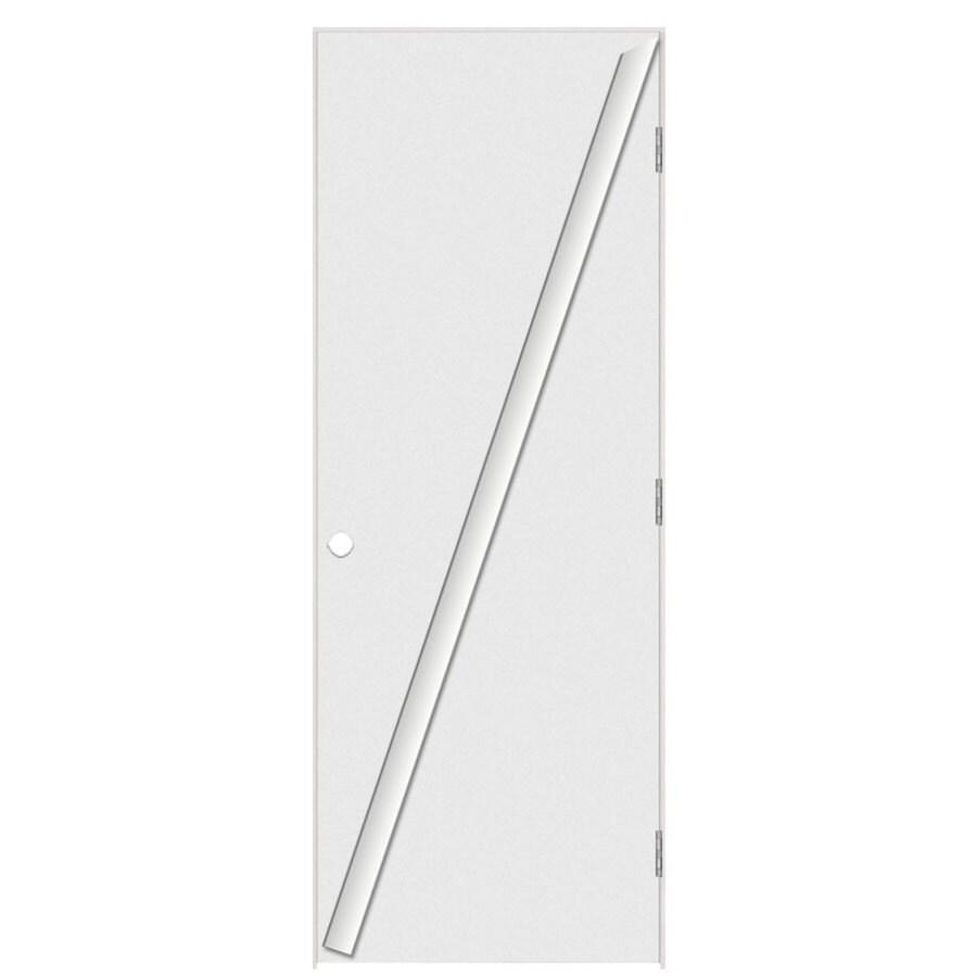 Masonite Prehung Hollow Core Flush Interior Door (Common: 32-in x 80-in; Actual: 33.5-in x 81.5-in)