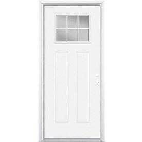 Masonite Primed Steel Entry Door With Insulating Core