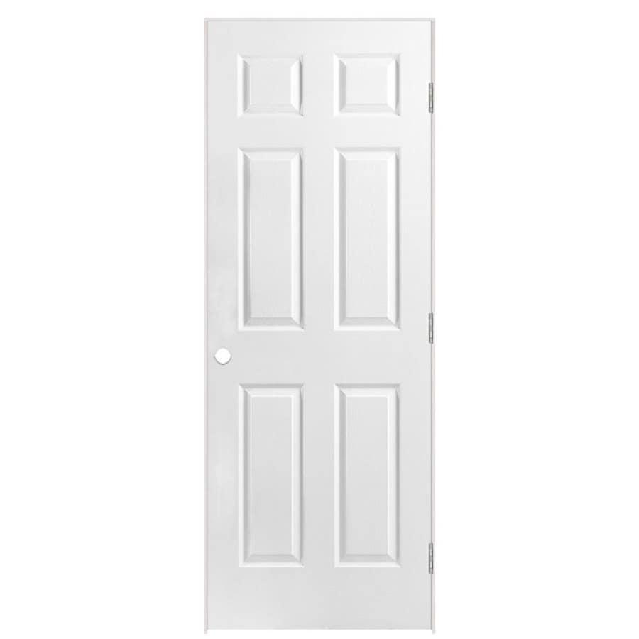 Masonite Classics Primed Solid Core Molded Composite Single Prehung Interior Door (Common: 36-in x 78-in; Actual: 37.5-in x 79.5-in)