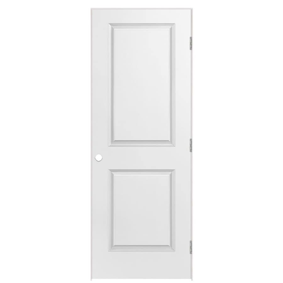 Masonite Primed Molded Composite Interior Door (Common: 36-in x 80-in; Actual: 37.5-in x 81.5-in)