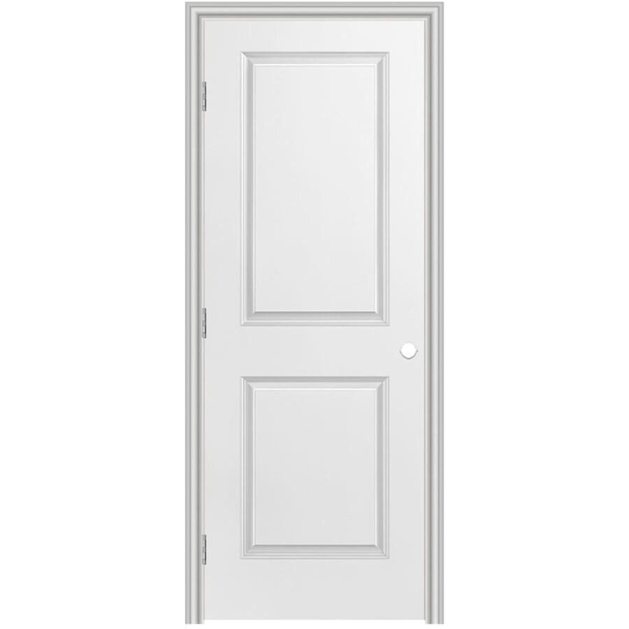 Masonite Classics  2-panel Square Single Prehung Interior Door (Common: 28-in X 80-in; Actual: 29.5-in x 81.5-in)