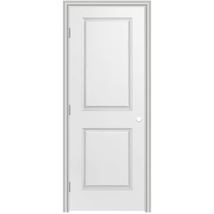 Masonite Prehung Hollow Core 2-Panel Square Interior Door (Common: 30-in x 80-in; Actual: 31.5-in x 81.5-in)