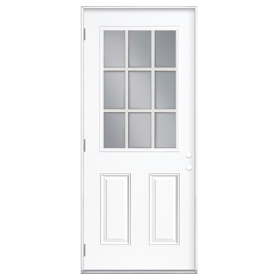 Lowes prehung exterior doors shop reliabilt lite inswing for Prehung exterior door