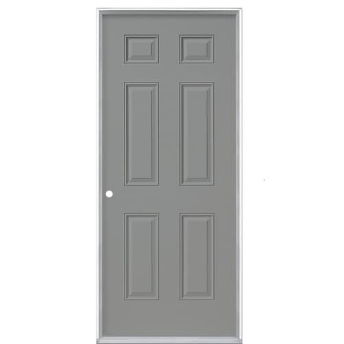 Masonite 32 In X 80 In Steel Right Hand Inswing Primed Prehung Single Front Door In The Front Doors Department At Lowes Com You can spot some of the bad ones as soon as you pull them out of the rack. masonite 32 in x 80 in steel right hand inswing primed prehung single front door lowes com