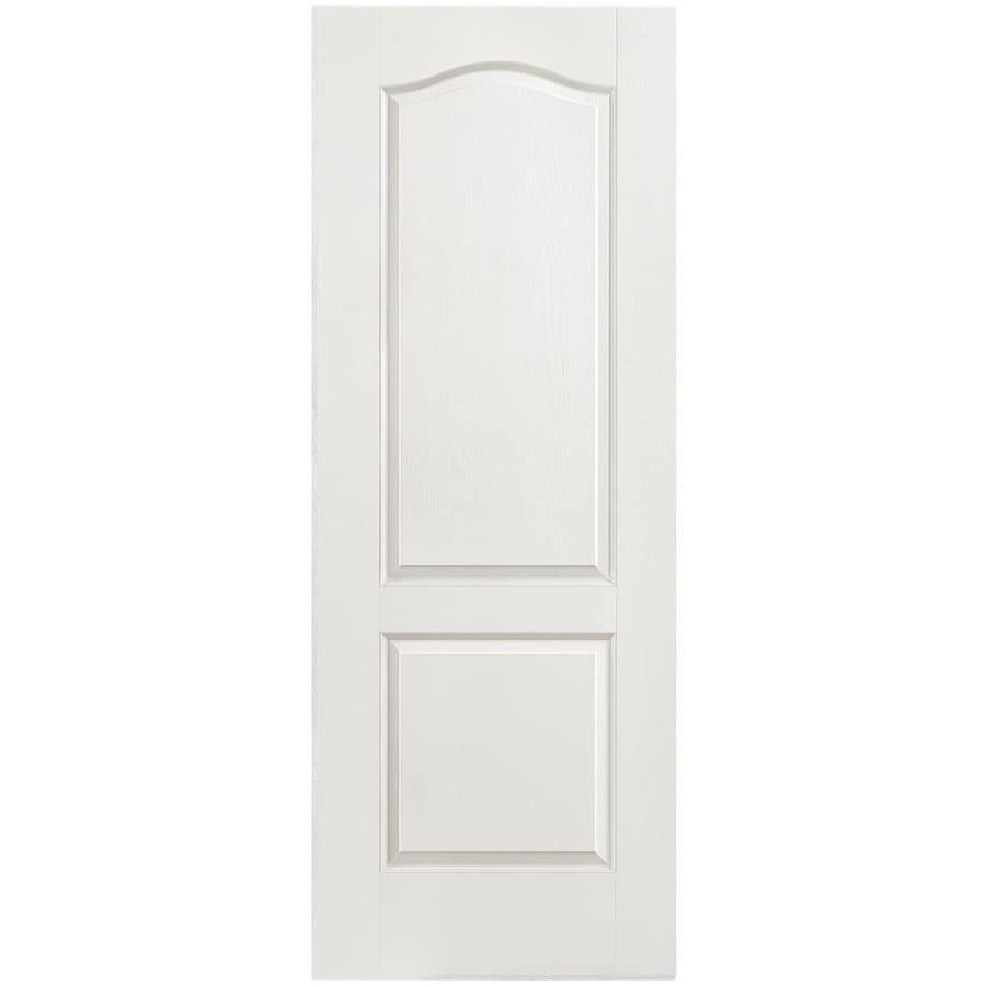 Masonite Classics Primed Hollow Core Molded Composite Slab Interior Door (Common: 30-in x 80-in; Actual: 30-in x 80-in)