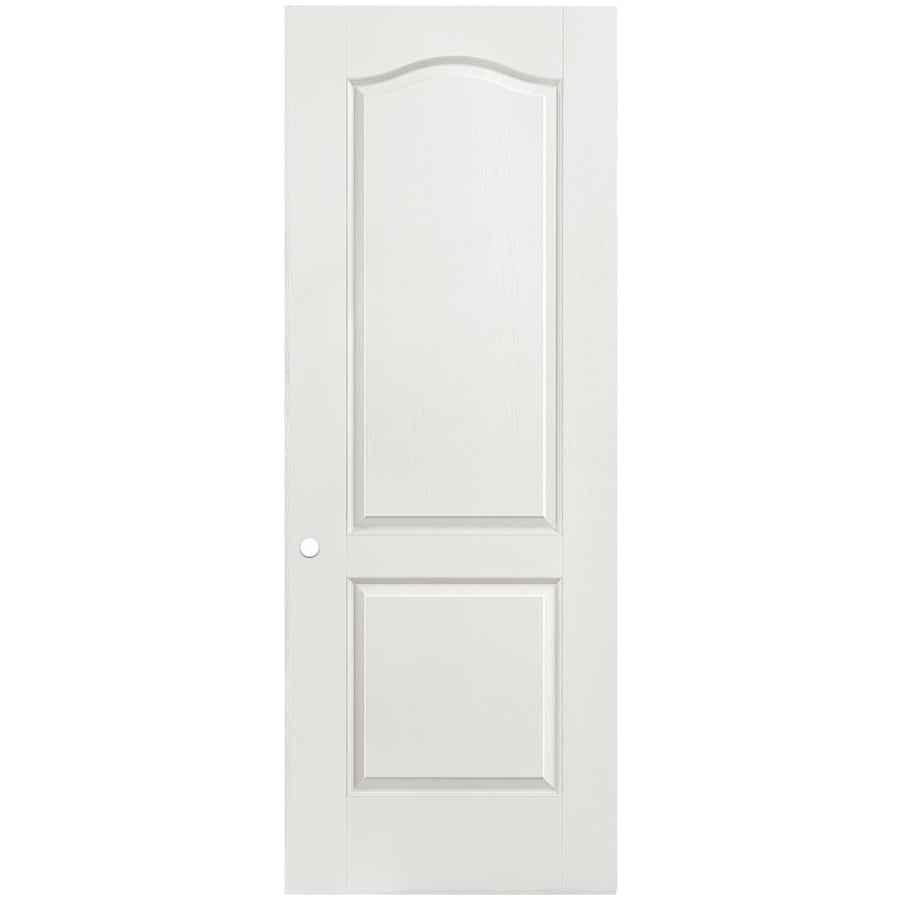 Masonite Hollow Core 2-Panel Arch Top Slab Interior Door (Common: 30-in x 80-in; Actual: 30-in x 80-in)