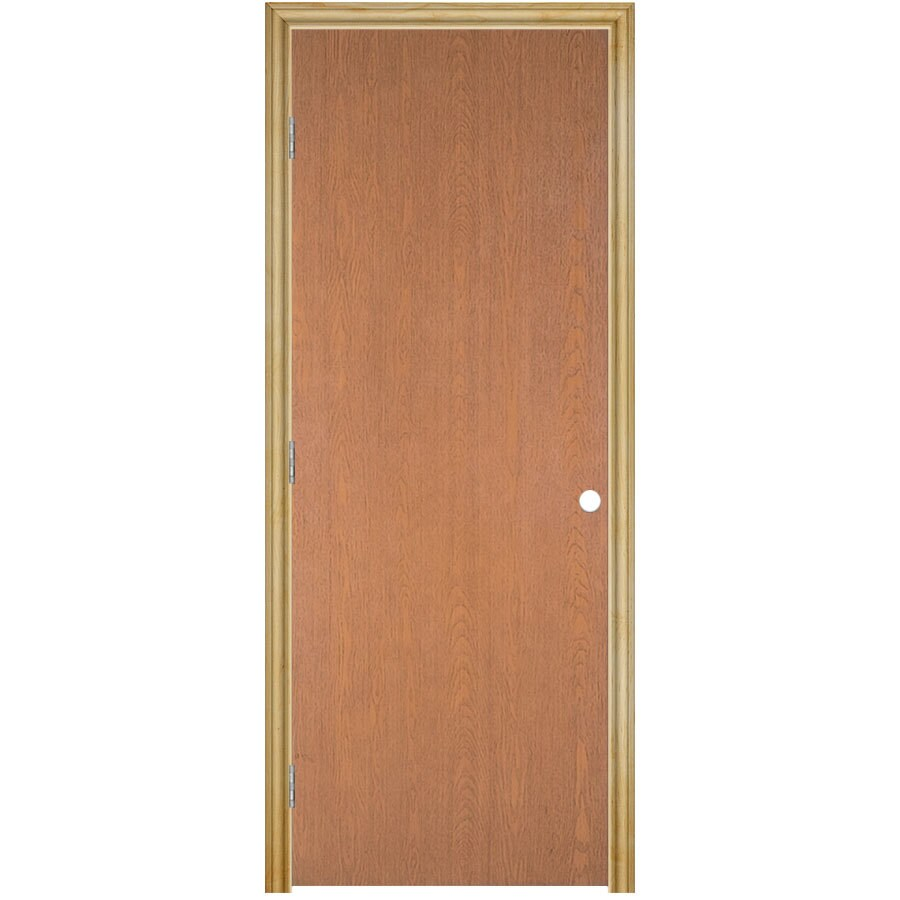 Masonite Classics Hollow Core Veneer Hard Single Prehung Interior Door (Common: 28-in x 80-in; Actual: 29.75-in x 81.75-in)