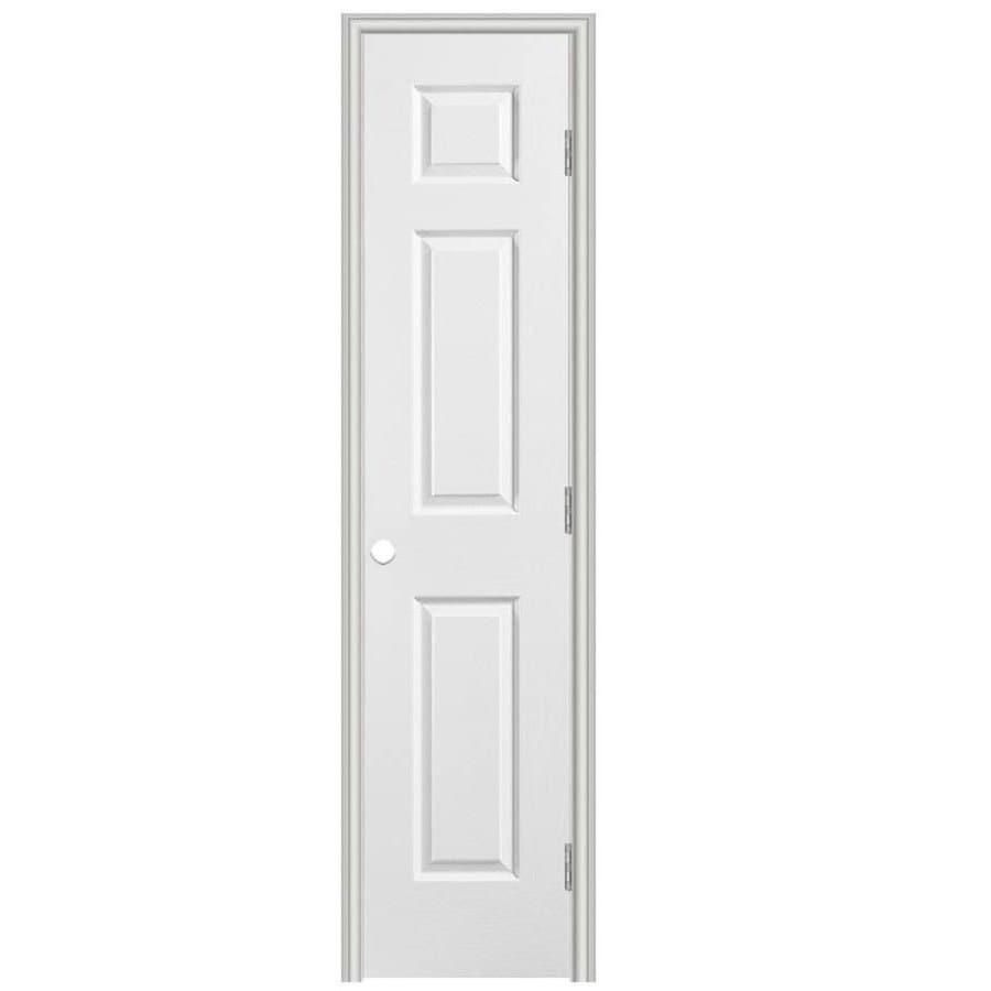 Masonite Classics Prehung Hollow Core 6-Panel Interior Door (Common: 18-in x 80-in; Actual: 19.5-in x 81.5-in)