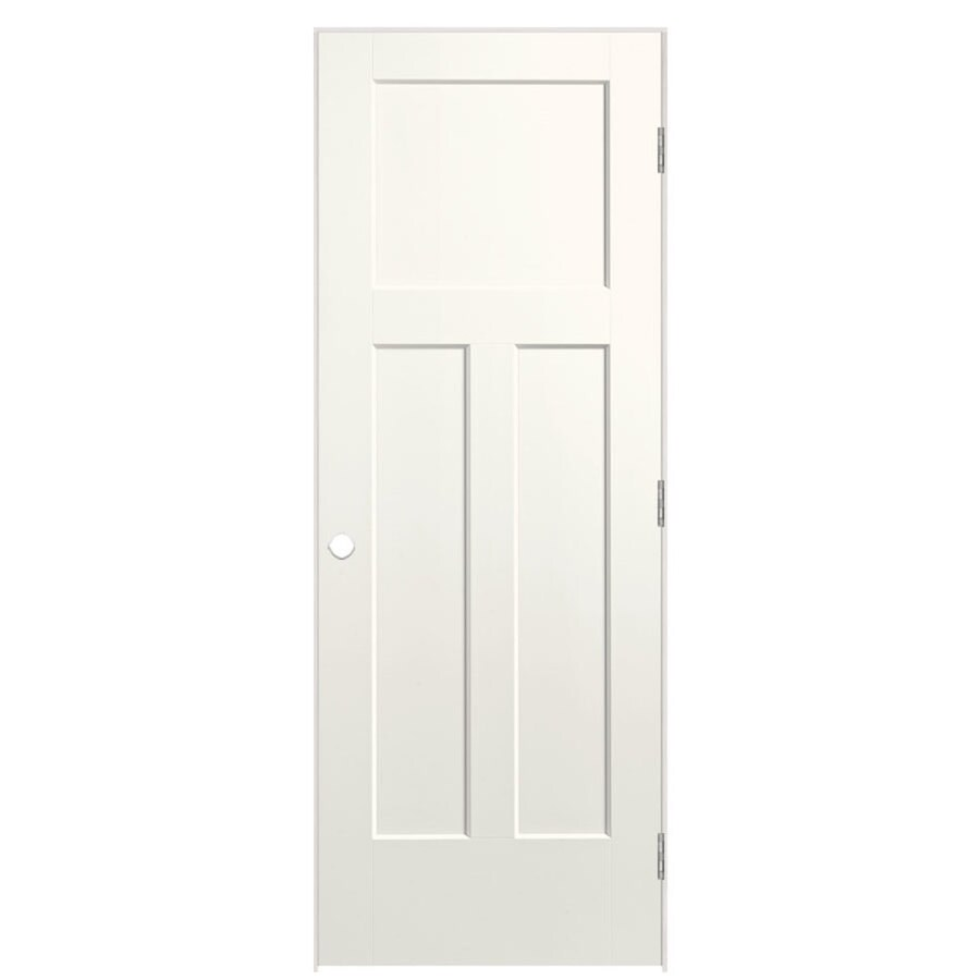 Masonite Heritage White Hollow Core Molded Composite Prehung Interior Door (Common: 30-in x 80-in; Actual: 31.5-in x 81.5-in)