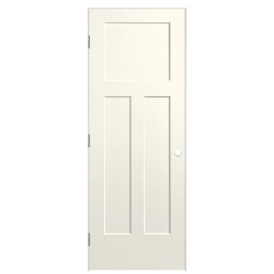 Masonite Heritage Moonglow Hollow Core Molded Composite Prehung Interior Door (Common: 36-in x 80-in; Actual: 37.5-in x 81.5-in)