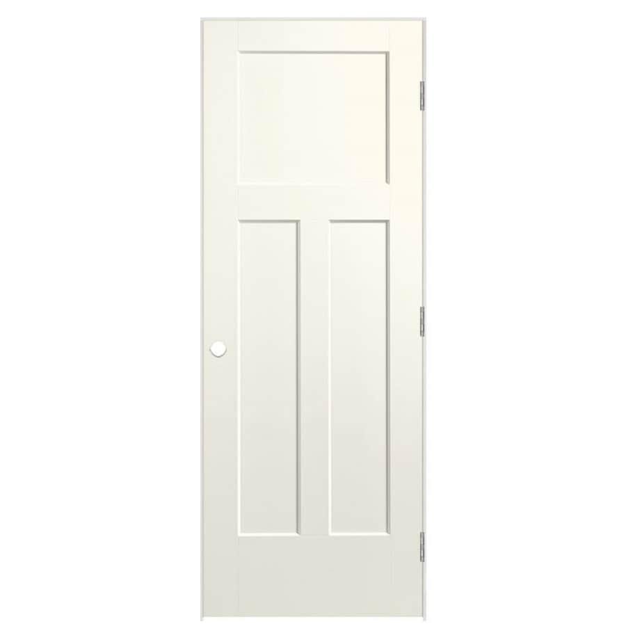 Masonite Heritage Moonglow Hollow Core Molded Composite Prehung Interior Door (Common: 36-in x 80-in; Actual: 37.5-in x 81.5-in)