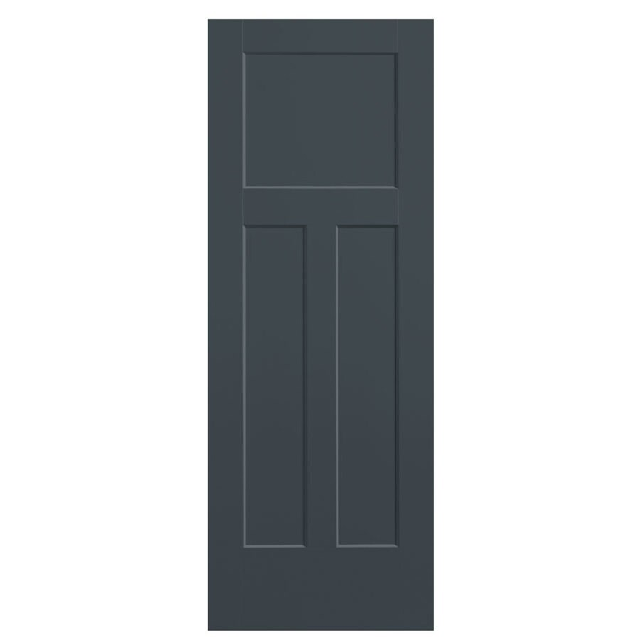 Masonite Heritage Slate Hollow Core Molded Composite Slab Interior Door (Common: 36-in x 80-in; Actual: 36-in x 80-in)
