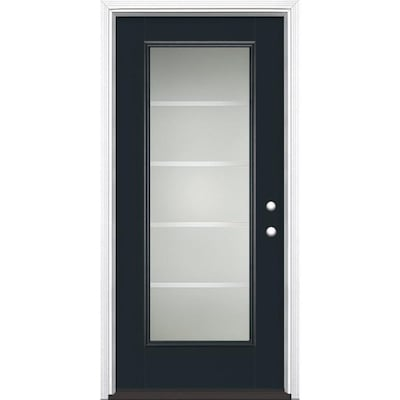 Masonite Full Lite Front Doors At Lowes Com Our front doors provide a beautiful and sturdy entrance for your home. masonite full lite front doors at lowes com