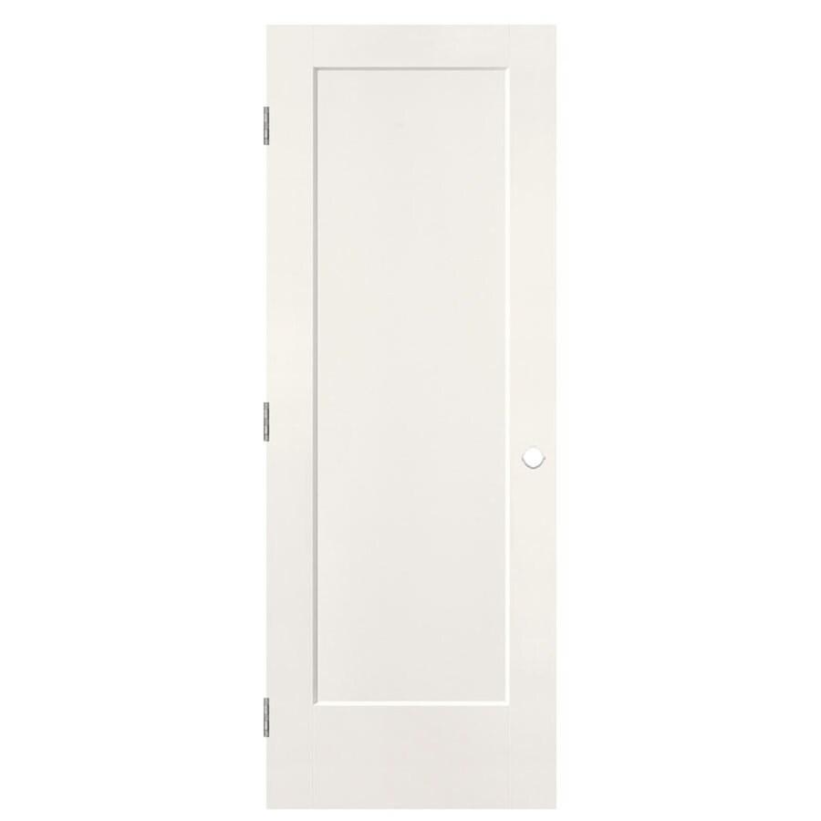 Masonite Heritage Snow Storm Hollow Core Molded Composite Prehung Interior Door (Common: 30-in x 80-in; Actual: 31.5-in x 81.5-in)