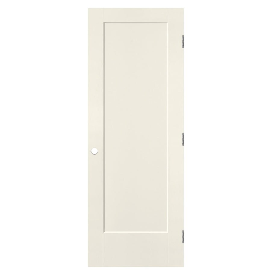 Masonite Lincoln Park Moonglow 1-panel Single Prehung Interior Door (Common: 28-in X 80-in; Actual: 29.5-in x 81.5-in)