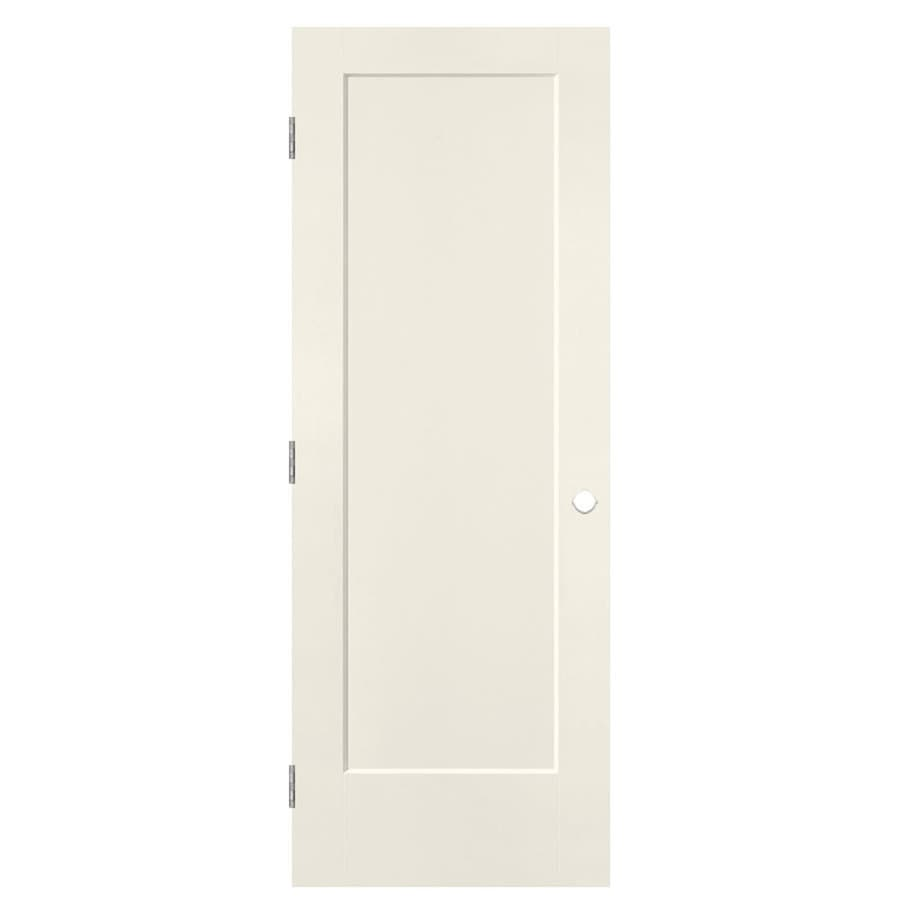 Masonite Lincoln Park Moonglow Hollow Core Molded Composite Single Prehung Interior Door with Hardware (Common: 30-in x 80-in; Actual: 31.5-in x 81.5-in)