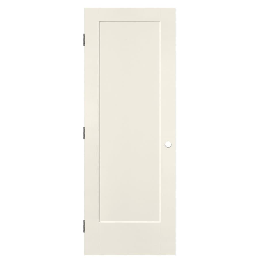 Masonite Heritage Moonglow Hollow Core Molded Composite Prehung Interior Door (Common: 32-in x 80-in; Actual: 33.5-in x 81.5-in)