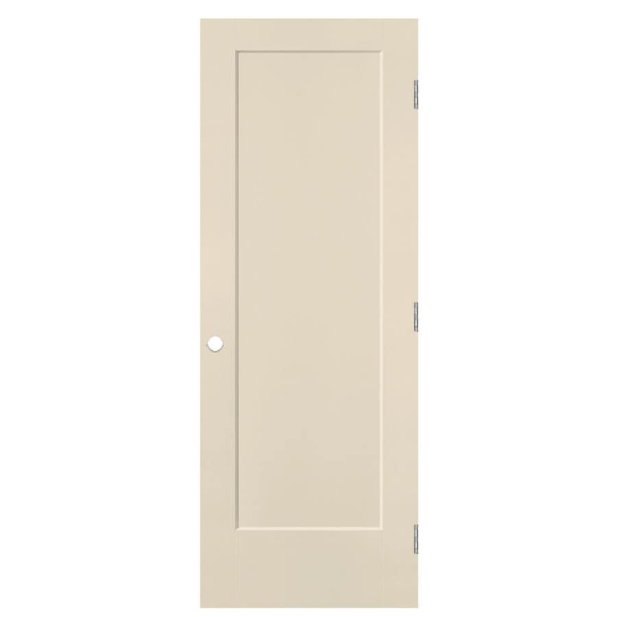 Masonite Heritage Cream-N-Sugar Hollow Core Molded Composite Single Prehung Interior Door (Common: 24-in X 80-in; Actual: 25.5-in x 81.5-in)