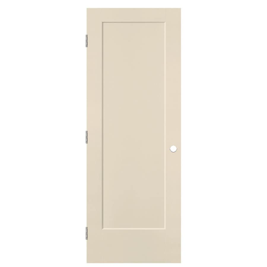 Masonite Heritage Cream-N-Sugar Hollow Core Molded Composite Prehung Interior Door (Common: 28-in x 80-in; Actual: 29.5-in x 81.5-in)
