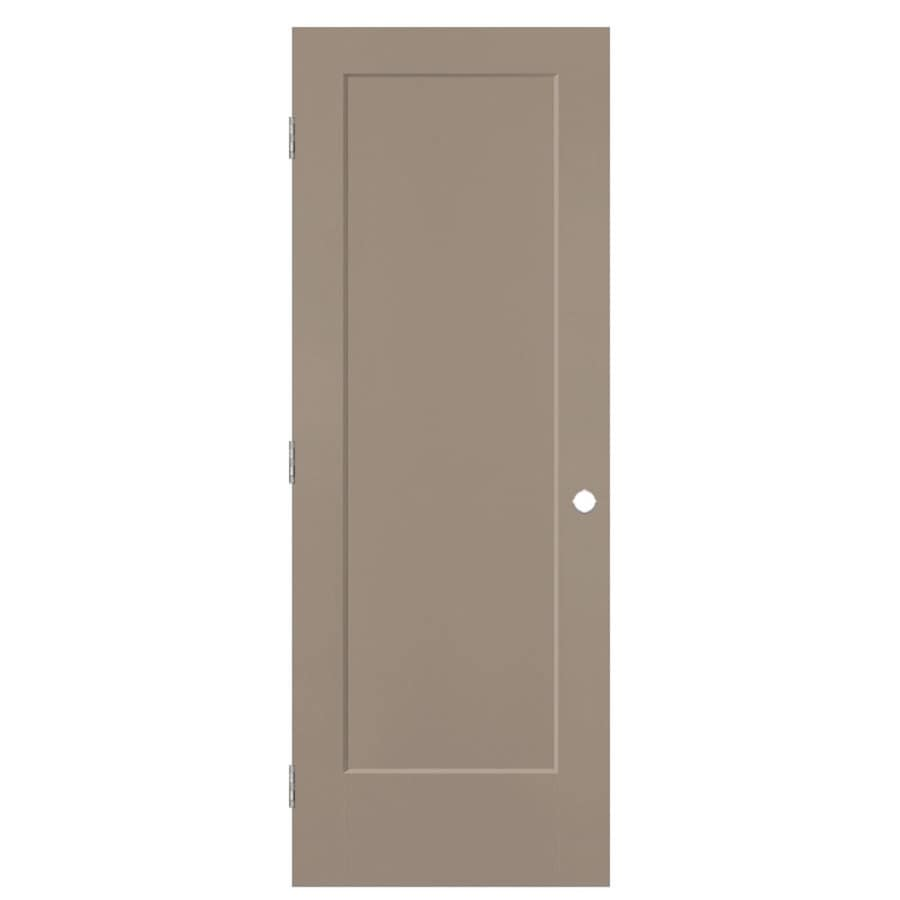 Masonite Lincoln Park Sand Piper Hollow Core Molded Composite Single Prehung Interior Door with Hardware (Common: 24-in x 80-in; Actual: 25.5-in x 81.5-in)