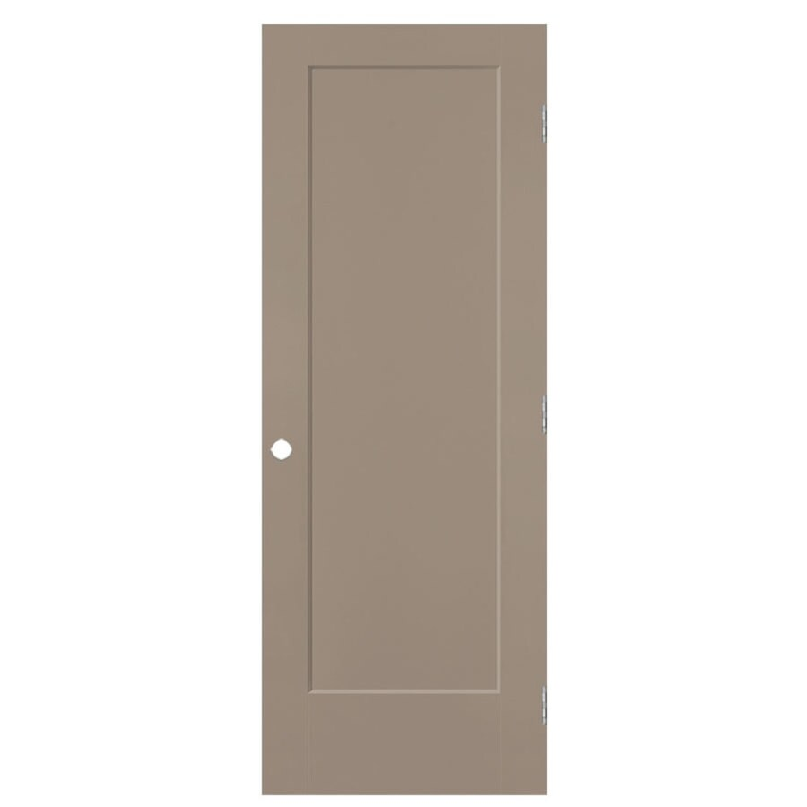 Masonite Lincoln Park Sand Piper 1-panel Sliding Closet Interior Door (Common: 24-in X 80-in; Actual: 25.5-in x 81.5-in)