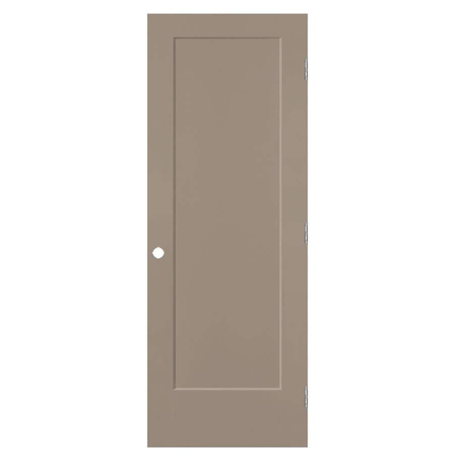 Masonite Heritage Sand Piper Hollow Core Molded Composite Prehung Interior Door (Common: 32-in x 80-in; Actual: 33.5-in x 81.5-in)