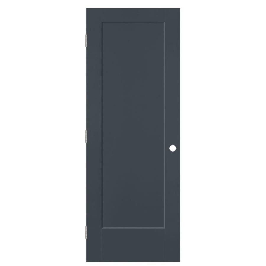 Masonite Lincoln Park Slate 1-panel Single Prehung Interior Door (Common: 30-in X 80-in; Actual: 31.5-in x 81.5-in)
