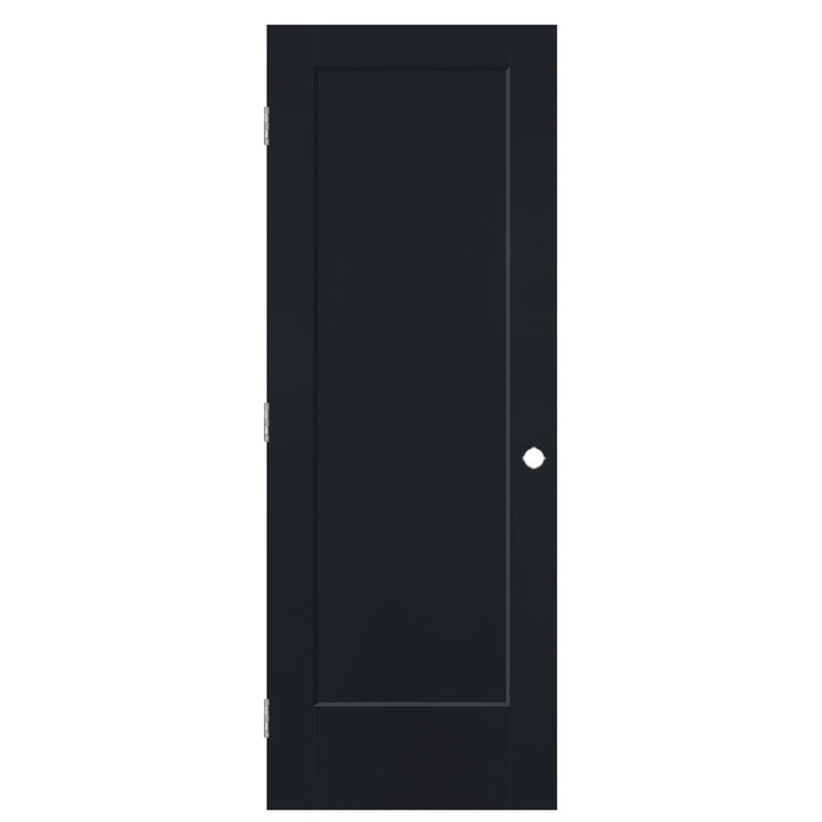 Masonite Heritage Midnight Hollow Core Molded Composite Prehung Interior Door (Common: 32-in x 80-in; Actual: 33.5-in x 81.5-in)