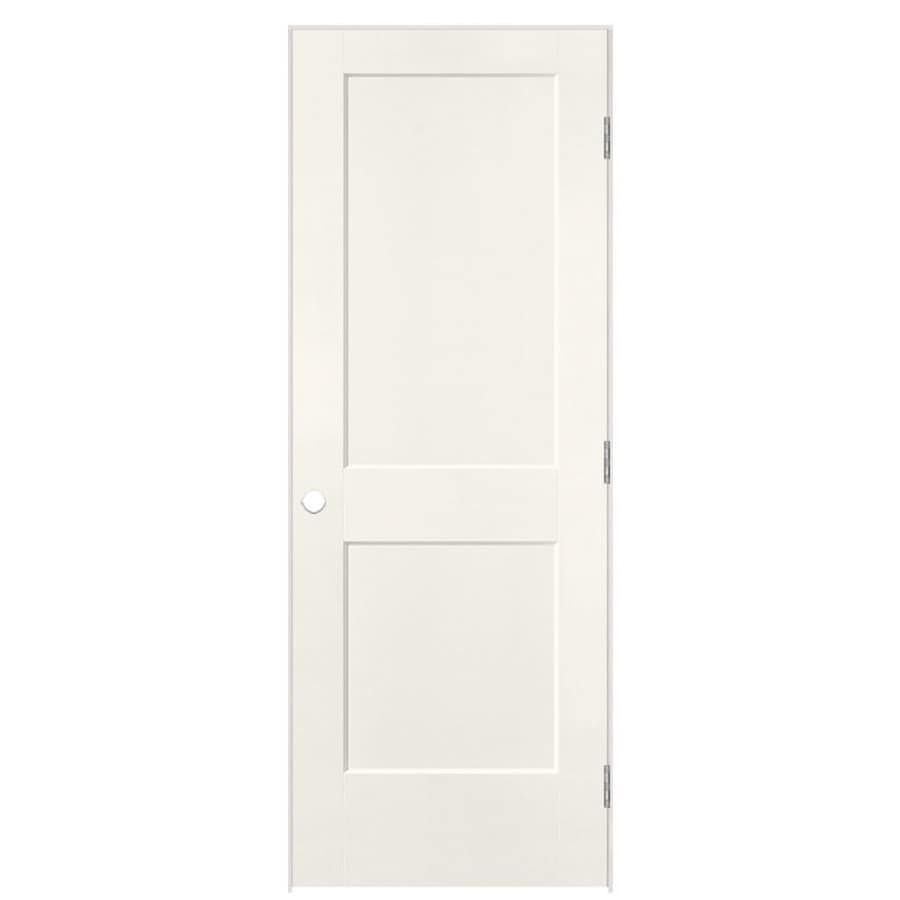 Masonite Heritage White Hollow Core Molded Composite Single Prehung Interior Door (Common: 24-in X 80-in; Actual: 25.5-in x 81.5-in)