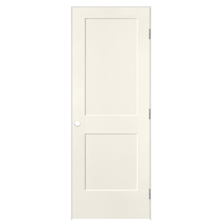 Masonite logan moonglow prehung hollow core 2 panel square - Prehung hollow core interior doors ...