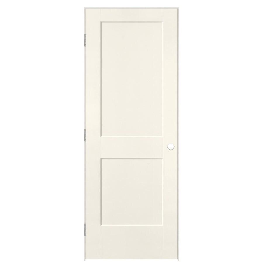 Masonite Heritage Moonglow Hollow Core Molded Composite Single Prehung Interior Door (Common: 28-in X 80-in; Actual: 29.5-in x 81.5-in)