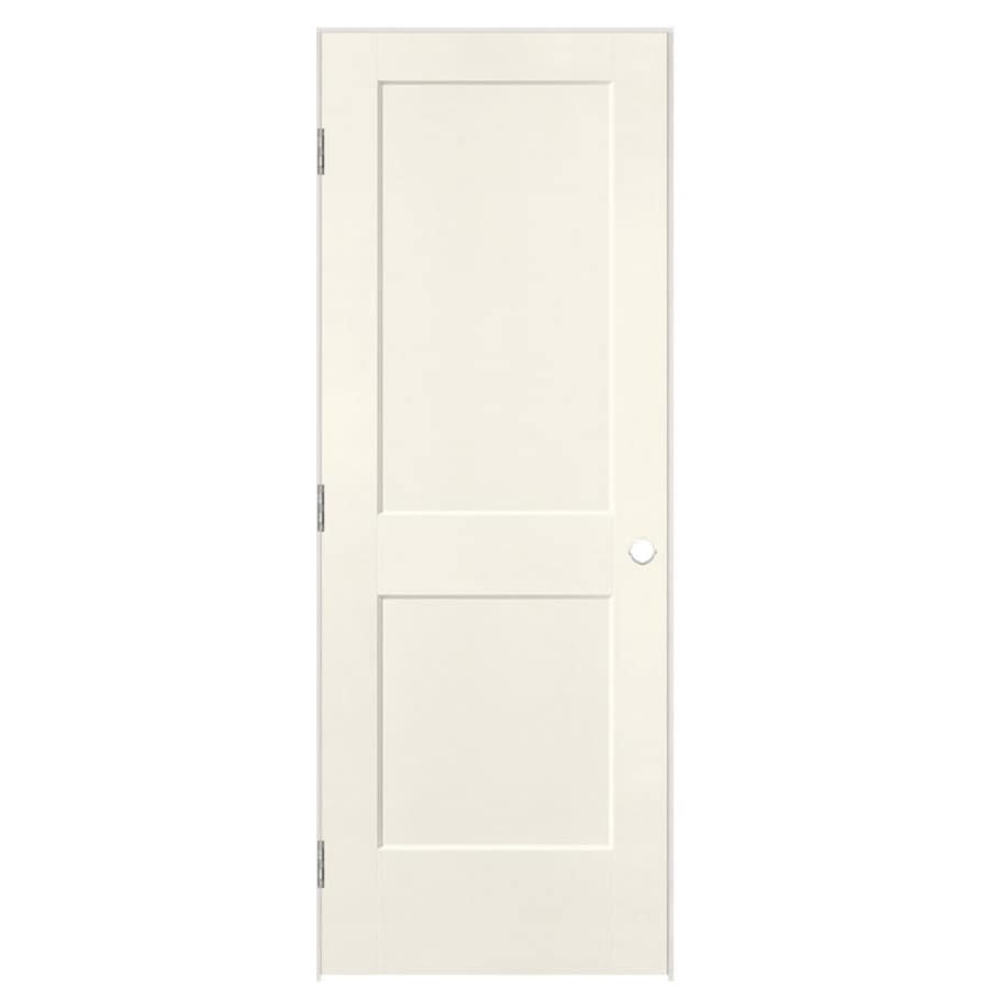 Masonite Heritage Moonglow Hollow Core Molded Composite Single Prehung Interior Door (Common: 32-in X 80-in; Actual: 33.5-in x 81.5-in)