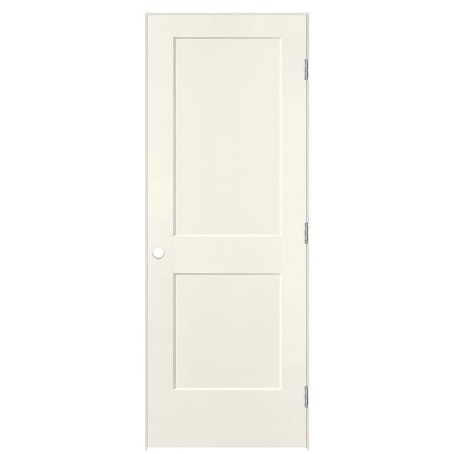 Masonite Heritage Moonglow Hollow Core Molded Composite Single Prehung Interior Door (Common: 32-in X 80-in; Actual: 33.5-in x 81.5-in)