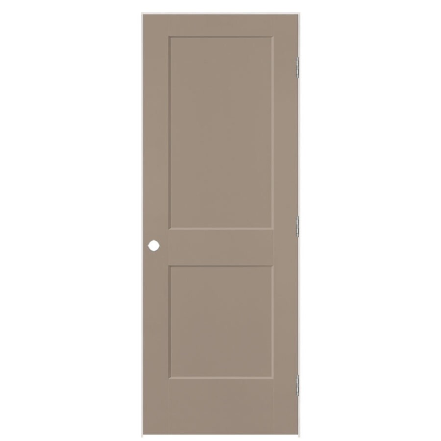 Masonite Heritage Sand Piper Hollow Core Molded Composite Single Prehung Interior Door (Common: 24-in X 80-in; Actual: 25.5-in x 81.5-in)