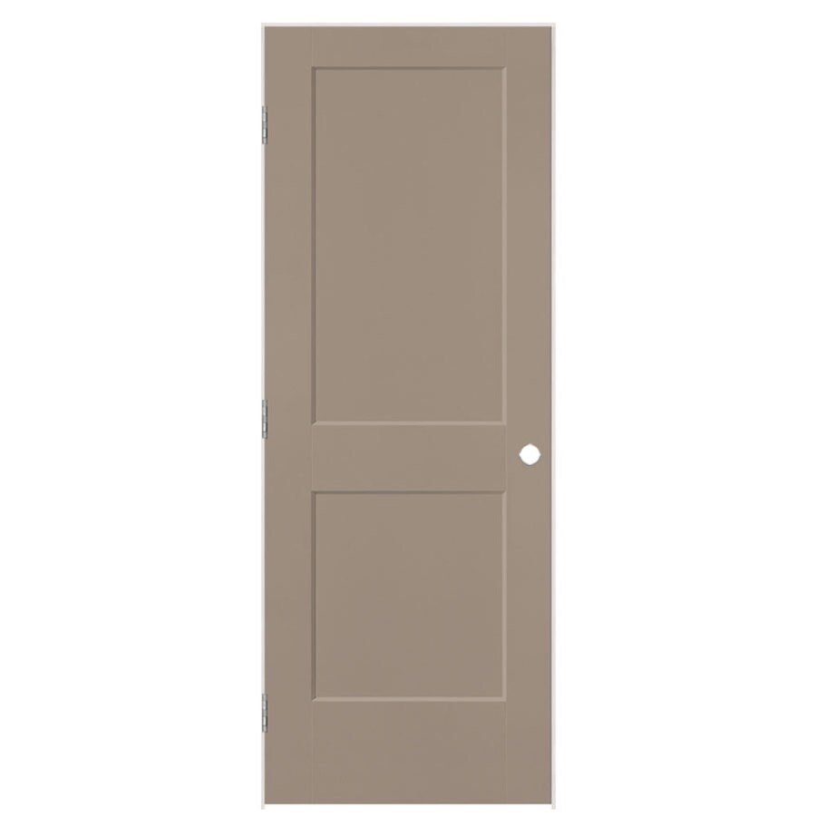 Masonite Heritage Sand Piper Hollow Core Molded Composite Single Prehung Interior Door (Common: 36-in X 80-in; Actual: 37.5-in x 81.5-in)