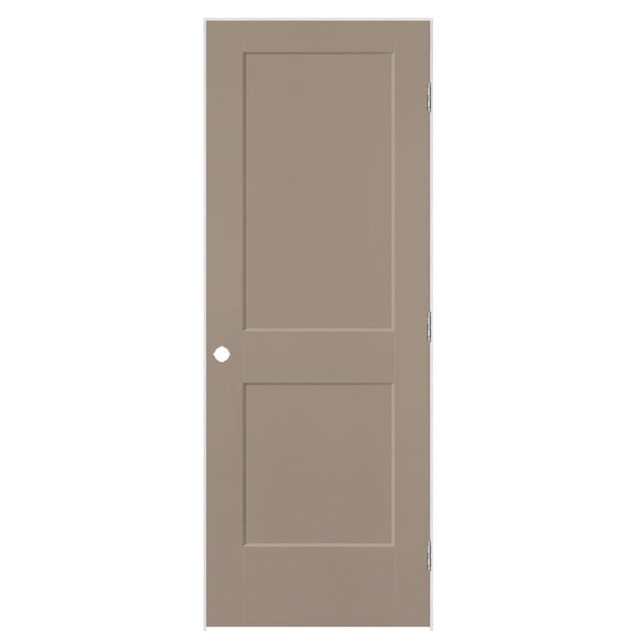 Masonite Heritage Sand Piper Hollow Core Molded Composite Single Prehung Interior Door (Common: 36-in X 80-in; Actual: 37.5-in x 81.5-in)