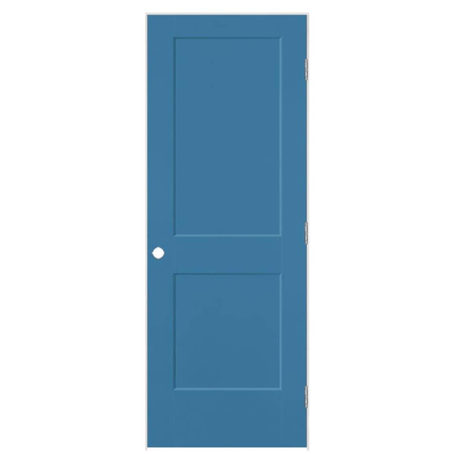 Masonite Heritage Blue Heron Hollow Core Molded Composite Single Prehung Interior Door (Common: 30-in X 80-in; Actual: 31.5-in x 81.5-in)