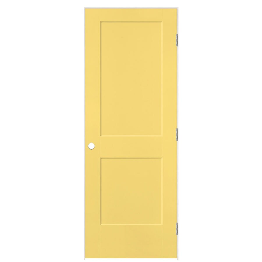 Masonite Heritage Marigold Hollow Core Molded Composite Single Prehung Interior Door (Common: 30-in X 80-in; Actual: 31.5-in x 81.5-in)