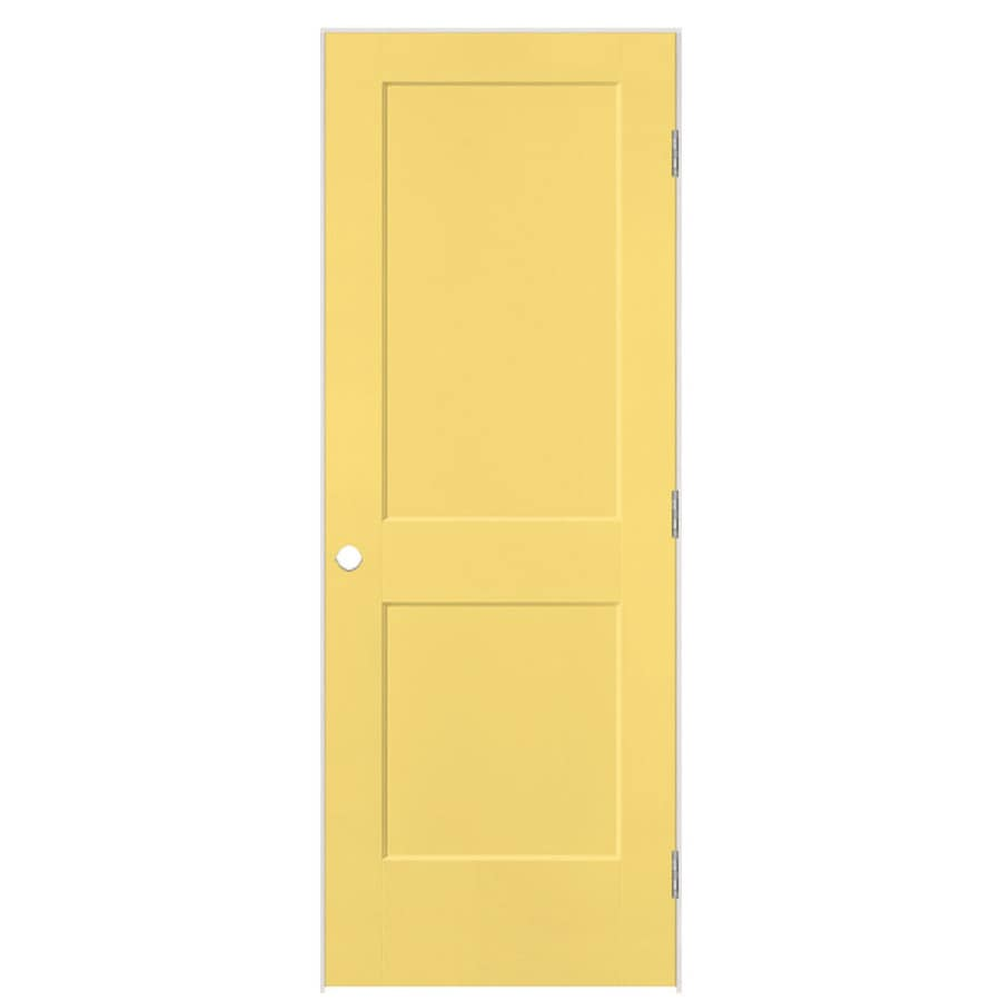 Masonite Heritage Marigold Hollow Core Molded Composite Single Prehung Interior Door (Common: 32-in X 80-in; Actual: 33.5-in x 81.5-in)