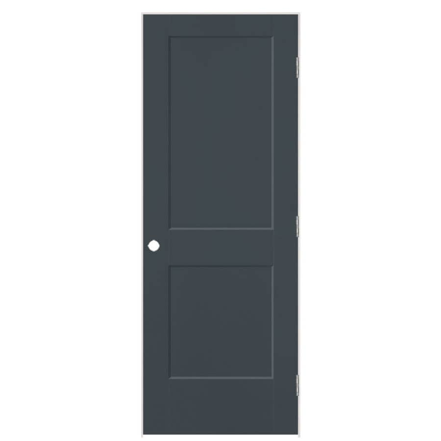 Masonite Logan Slate Hollow Core Molded Composite Single Prehung Interior Door with Hardware (Common: 28-in x 80-in; Actual: 29.5-in x 81.5-in)