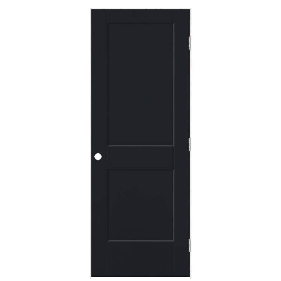 Masonite Heritage Midnight Hollow Core Molded Composite Single Prehung Interior Door (Common: 36-in X 80-in; Actual: 37.5-in x 81.5-in)