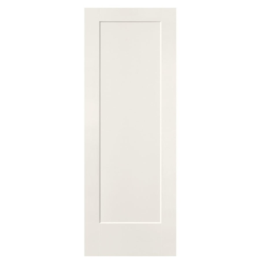 Masonite Slab Doors White 1 Panel Hollow Core Molded