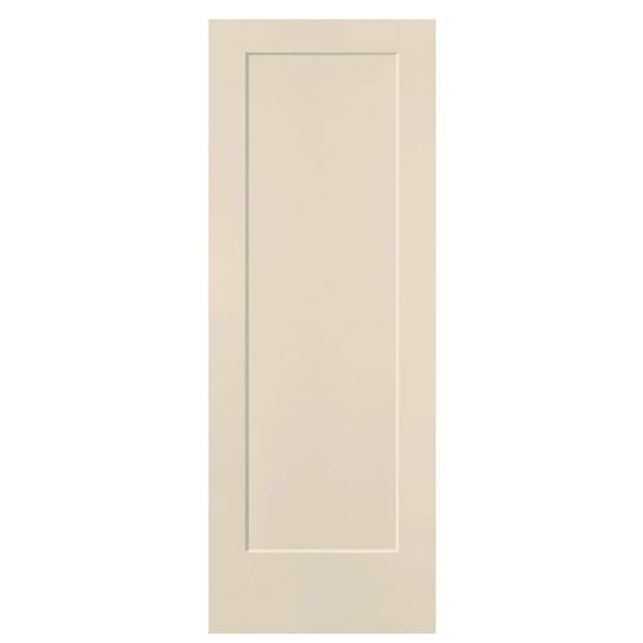 Masonite Lincoln Park Cream-N-Sugar Hollow Core Molded Composite Slab Interior Door (Common: 28-in x 80-in; Actual: 29-in x 80-in)