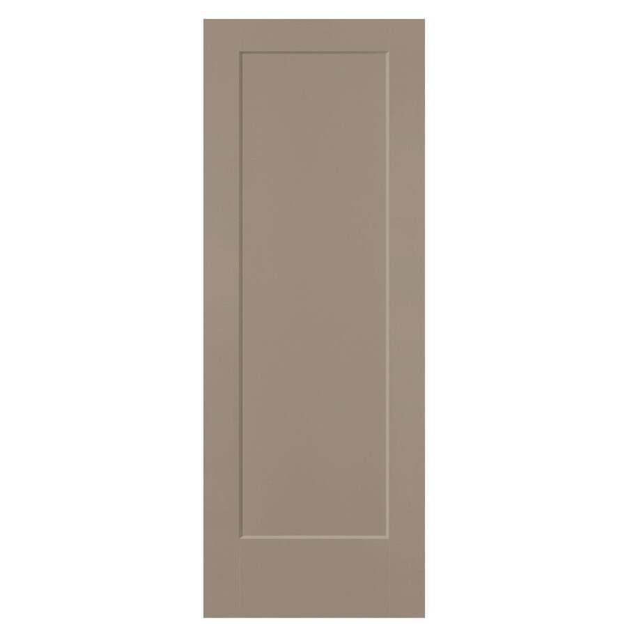 Masonite Lincoln Park Sand Piper Hollow Core Molded Composite Slab Interior Door (Common: 24-in x 80-in; Actual: 24-in x 80-in)