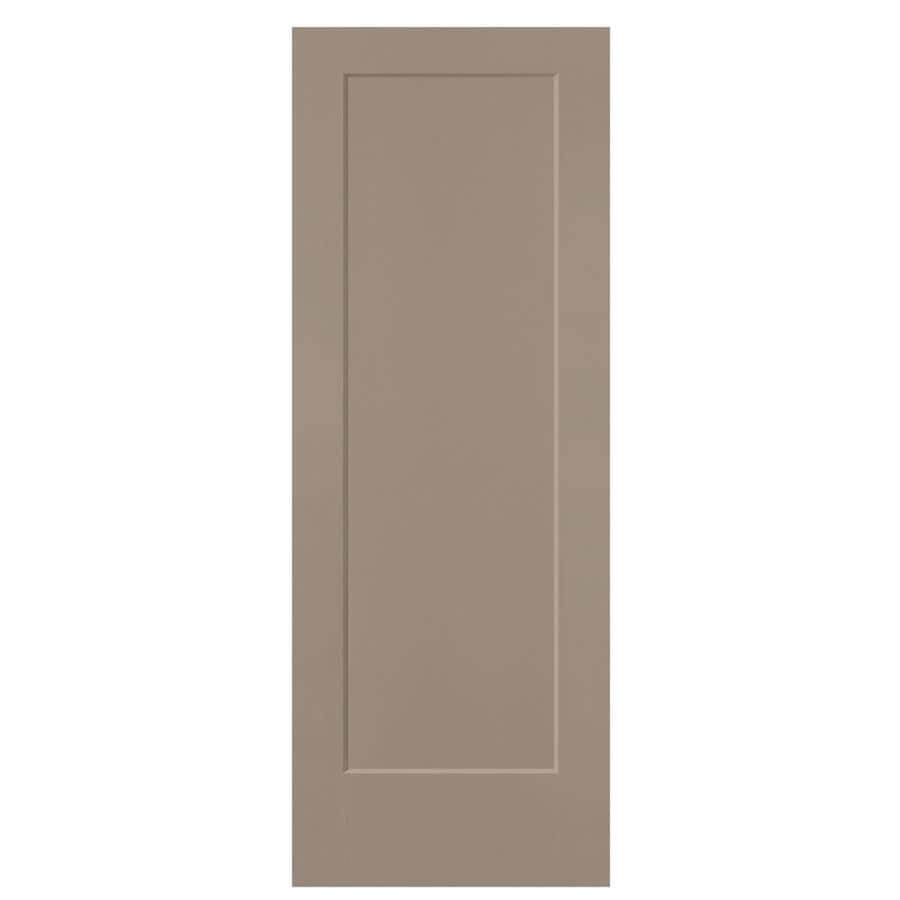 Masonite Lincoln Park Sand Piper Hollow Core 1-Panel Slab Interior Door (Common: 28-in x 80-in; Actual: 29.5-in x 81.5-in)