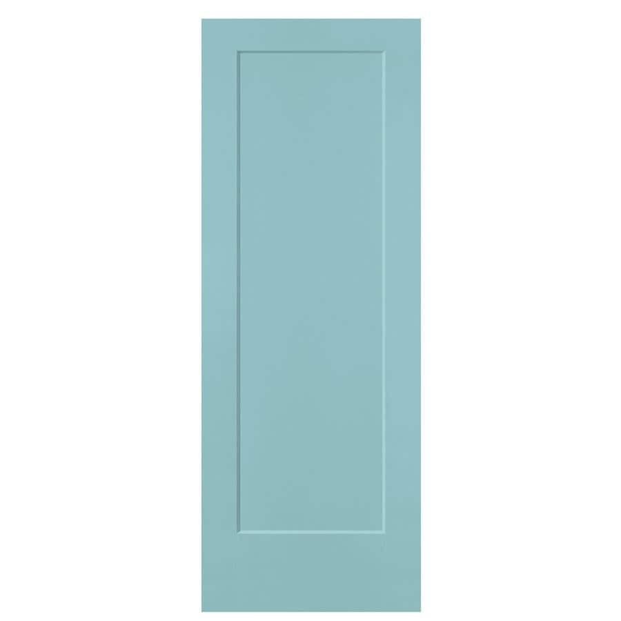 Shop masonite sea mist 1 panel hollow core molded for Www masonite com interior doors