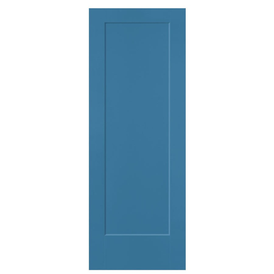Masonite Lincoln Park Blue Heron Hollow Core Molded Composite Slab Interior Door (Common: 28-in x 80-in; Actual: 28-in x 80-in)